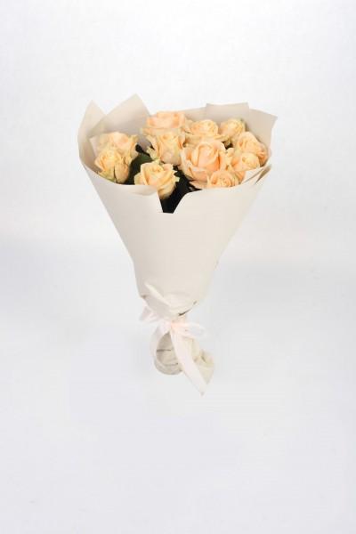 Букет из роз Peach Avalanche №3 в Томске